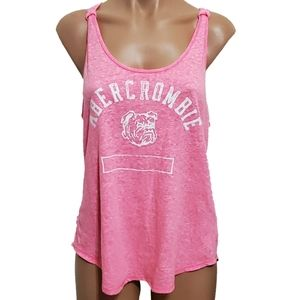Abercrombie & Fitch Dog Graphic Racerback